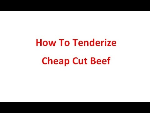 How To Tenderize Cheap Cut Beef  --  Quick & Easy Chinese Cuisine by Chinese Home Cooking Weeknight