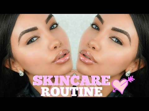 MY SKINCARE ROUTINE + Get unready with me  | MELLY SANCHEZ