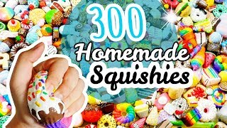 Download BIGGEST Homemade Squishy Collection EVER (memory foam, polyfoam, makeup sponges and decorated) Video