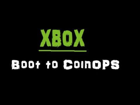 How to set your Xbox to boot to CoinOPS