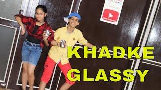 Khadke Glassy Kids Dance | Jabariya Jodi | Easy Steps For Kids | Step2Step Dance Studio | 9888137158