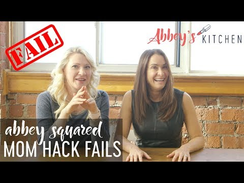 Mom Hack FAILS | Abbey Squared