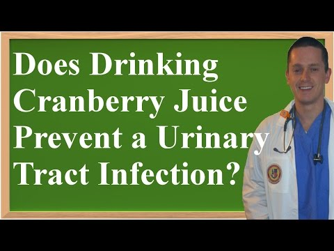 Does Drinking Cranberry Juice Help Prevent a Urinary Tract Infection (UTI)?