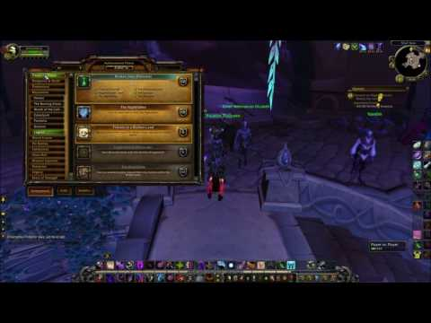 World of Warcraft Gameplay - Legion Flying Guide [Broken Isles Pathfinder Part 1 & 2]