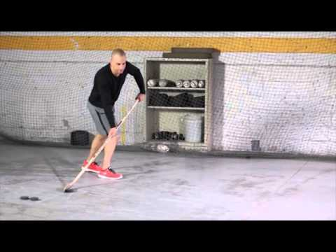 1 Drill to Get a Quick Release in 5 Minutes   Hockey Training and Goal Scoring