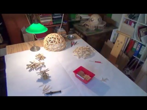 building a geodesic dome model