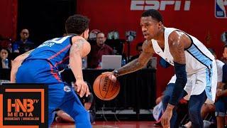 Philadelphia Sixers vs Memphis Grizzlies Full Game Highlights / July 15 / 2018 NBA Summer League