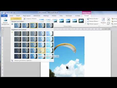 How to Edit a Picture in Word