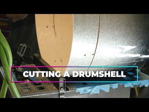 Cutting Bass Drum & Cutting Bearing Edge_basement_episode #104