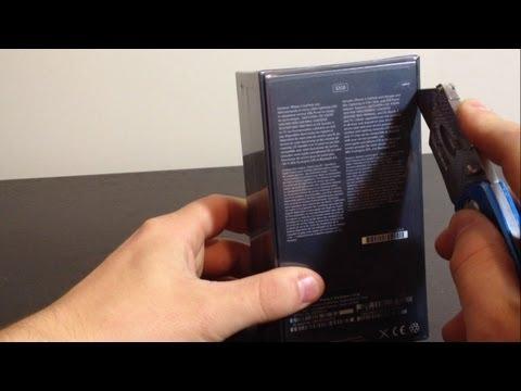 Apple iPhone 5 Unboxing (6th Gen - Black)