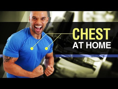 Chest Workout At Home (4 Killa Chest Exercises At Home) No Equipment But Still Tough!