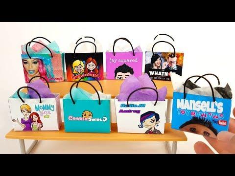 How to Make a Barbie Shopping Bag