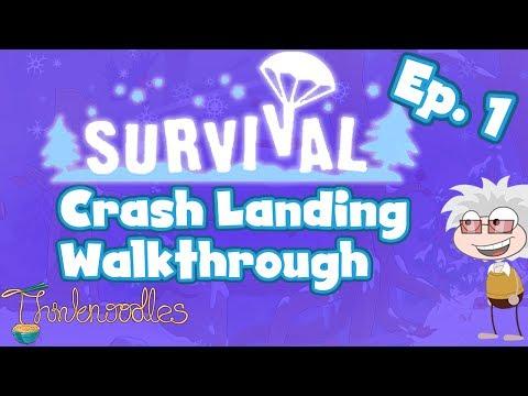 ★ Poptropica: Survival Ep. 1 - Crash Landing Walkthrough ★