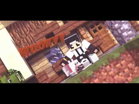 New Epic Minecraft Wolf Intro Template [ Blender ] #1