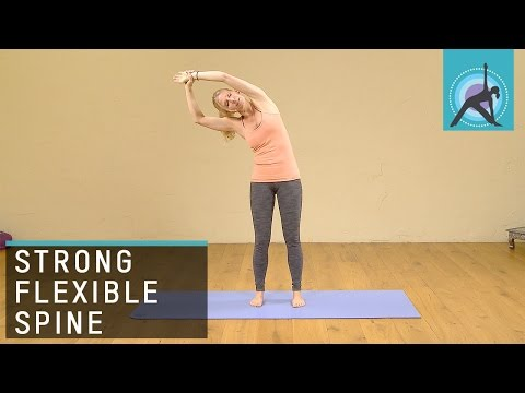 5 Yoga poses to keep the spine strong, flexible and healthy, With Esther Ekhart