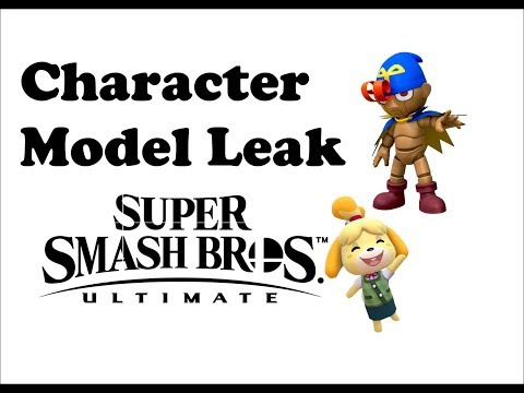DOWNLOAD:Geno and Isabelle character models leaked in Smash Bros
