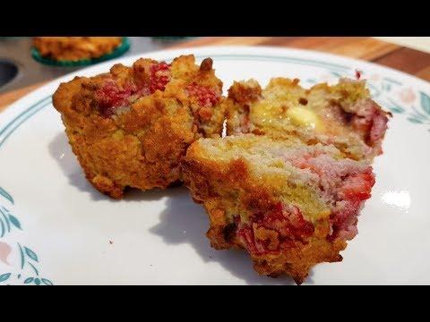 How to make Keto Raspberry Lemon Muffins