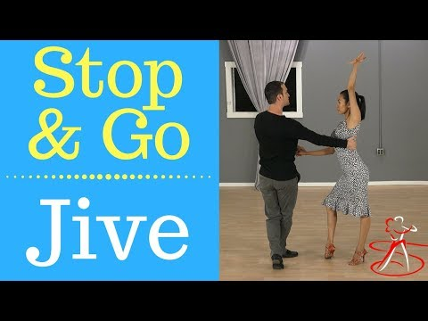 Stop and Go Jive - Lead & Follow Explanation