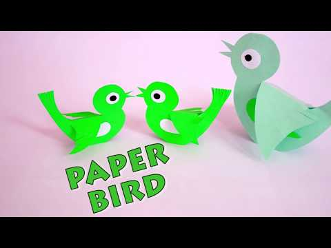 How to make paper bird- easy way