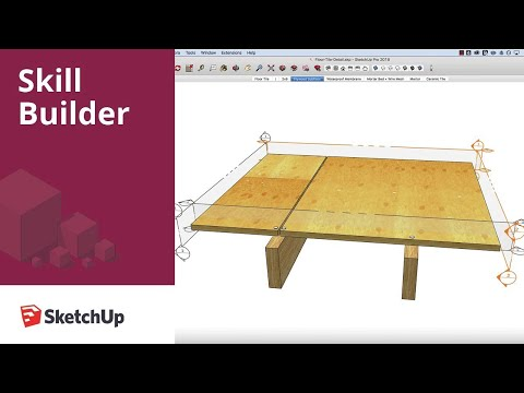 SketchUp Skill Builder: Creating section animations with Scenes