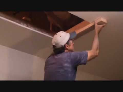 How to install an attic ladder...Part 5