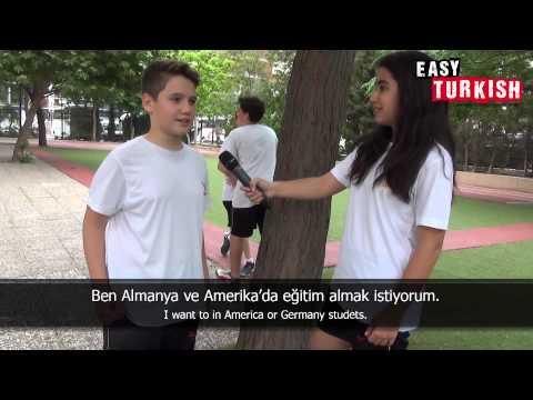 Easy Turkish 1 - Dream Professions