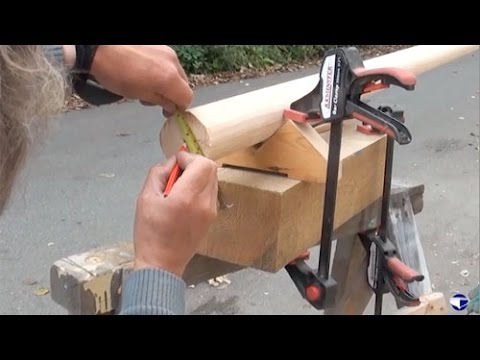 Making Wooden Spars Part 4 of 5