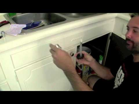 Replacing the Kitchen Sink Spray Nozzle