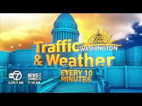 Traffic & Weather Every 10 Minutes on ABC7's Good Morning Washington
