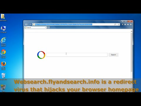 How to remove Websearch.flyandsearch.info Homepage Hijacker