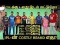 Download  IPL 2020   IPL NEWS: MOST COSTLIEST BRAND IN IPL  CSK,MI,RCB,KKR,SRH,RR,KXIP,DC NEWS  IPL NEWS TAMIL MP3,3GP,MP4