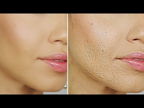 How To Stop Foundation from Separating, Caking, Creasing, Getting Oily,  Rubbing off Your Nose e