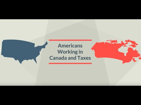 Americans Working in Canada