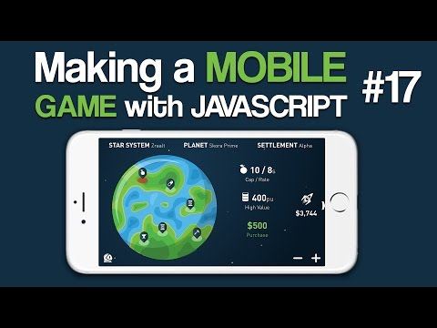 Making a Mobile Game with Javascript - 17: Generate Planets