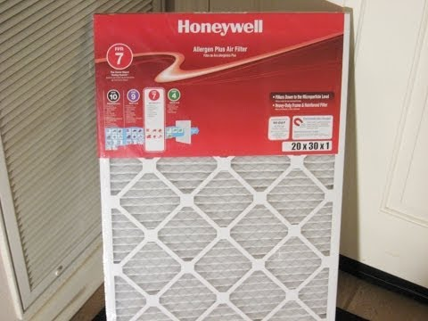 Home maintenance central heating air filter replace by froggy