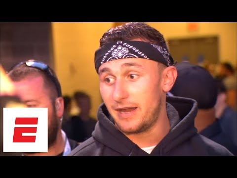 Johnny Manziel on being back on the football field in Spring League: 'I'm having fun, man' | ESPN