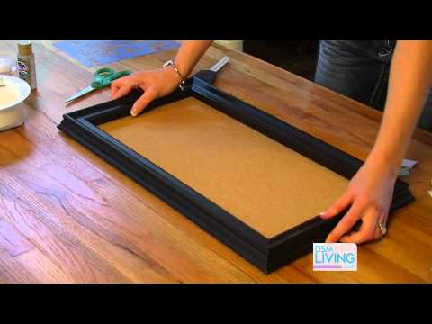 DIY Cork Board - DSM Living