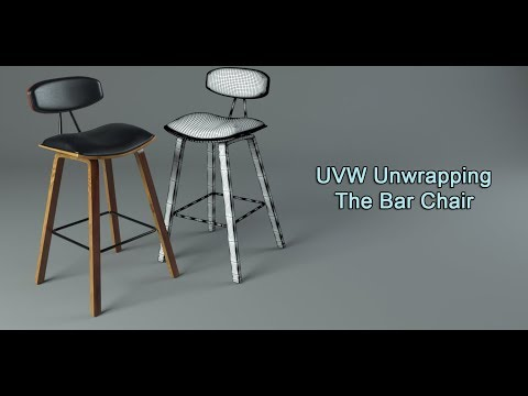 UVW Unwrapping The Bar Chair