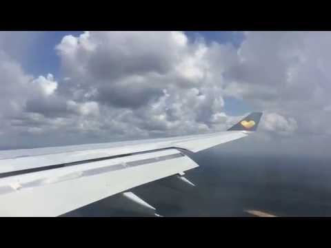 Thomas cook a330-200 landing Cancun,Mexico from Manchester,England|2016