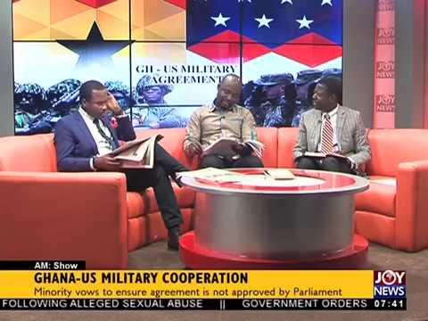 Ghana-US Military Cooperation - AM Talk on JoyNews (22-3-18)