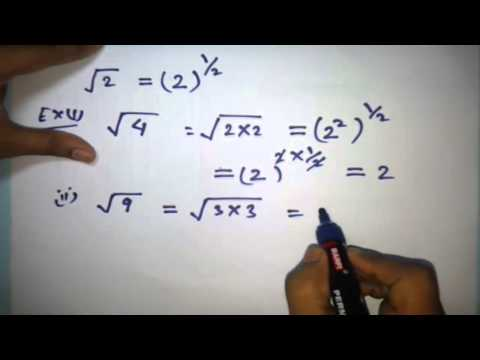 Simplify Square Root in Hindi