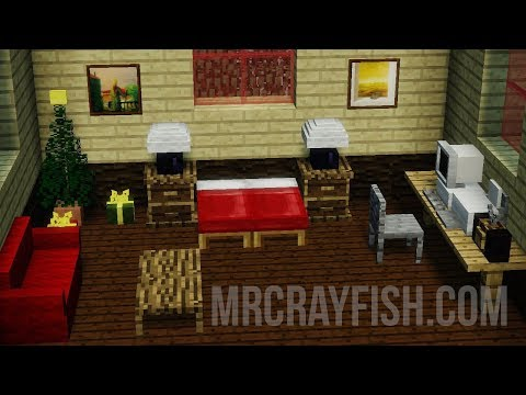 Mr. Crayfish's Furniture Mod 1.12 Mod Review 2018 (I say 1.7.10, it's 1.12)