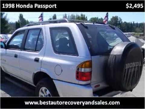 1998 Honda Passport Used Cars Seattle WA