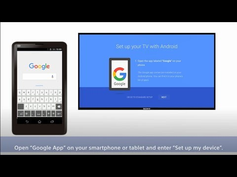 How to open Google in Sony Bravia tv