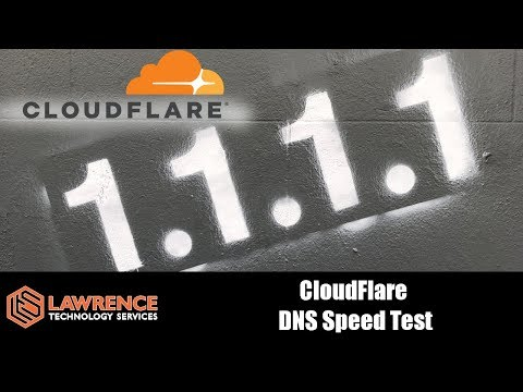 CloudFlare 1.1.1.1 privacy-first consumer DNS service Speed Test Quick Review