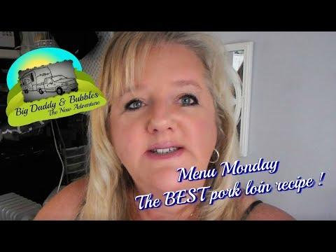 Menu Monday - The Best Pork Loin Recipe