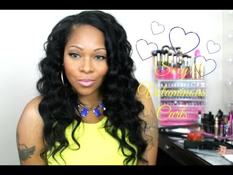 Owigs Clip In Hair Extensions: Big Bouncy Wand Curls (Quick Install & Blend)