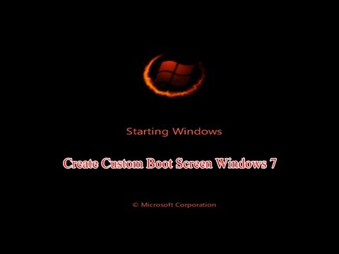 How to Change Windows Boot Screen