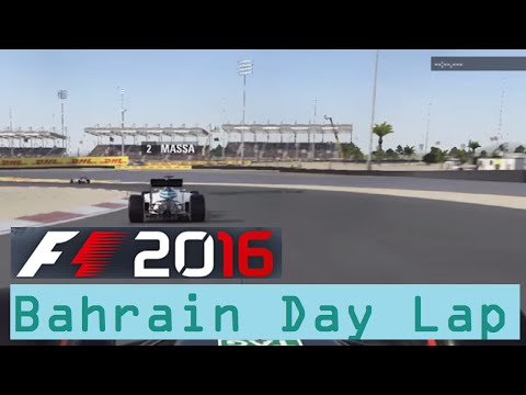 DAY ONE F1 2016 GAMEPLAY! | Lap of Bahrain in the DAY  | PS4, Xbox One AND Steam/PC