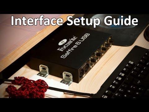 Interface Setup Guide (Focusrite Saffire 6 USB)